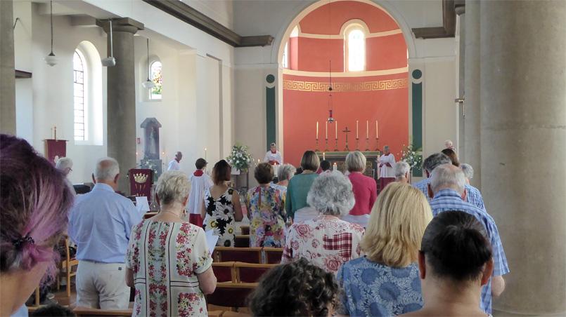 Mass service - Leigh-on-Sea